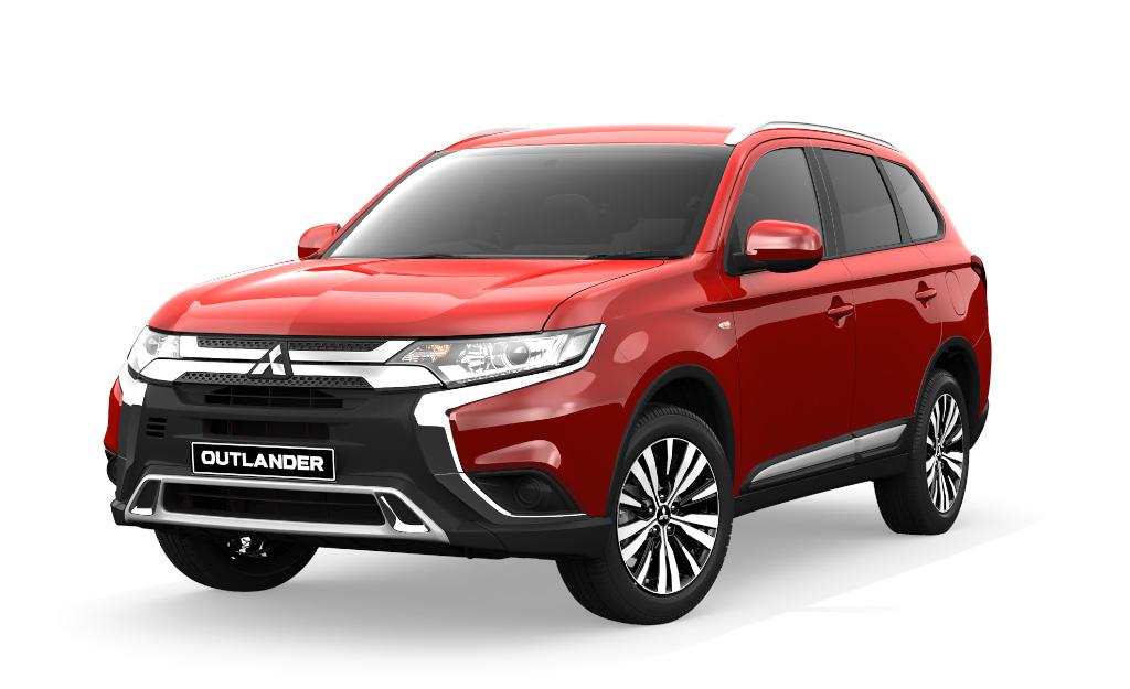 Mitsubishi Outlander LS 4WD 2.4L Petrol CP4LS45