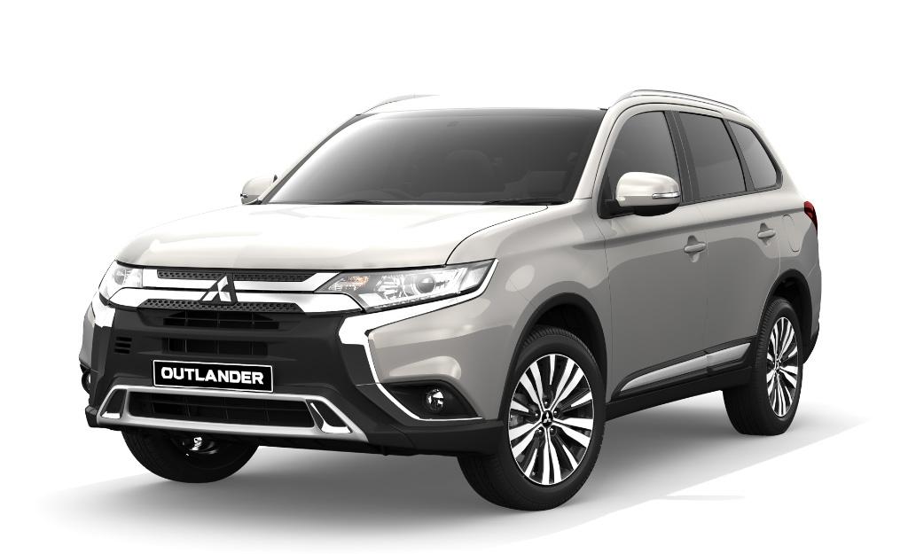 Mitsubishi Outlander XLS Diesel 4wd white
