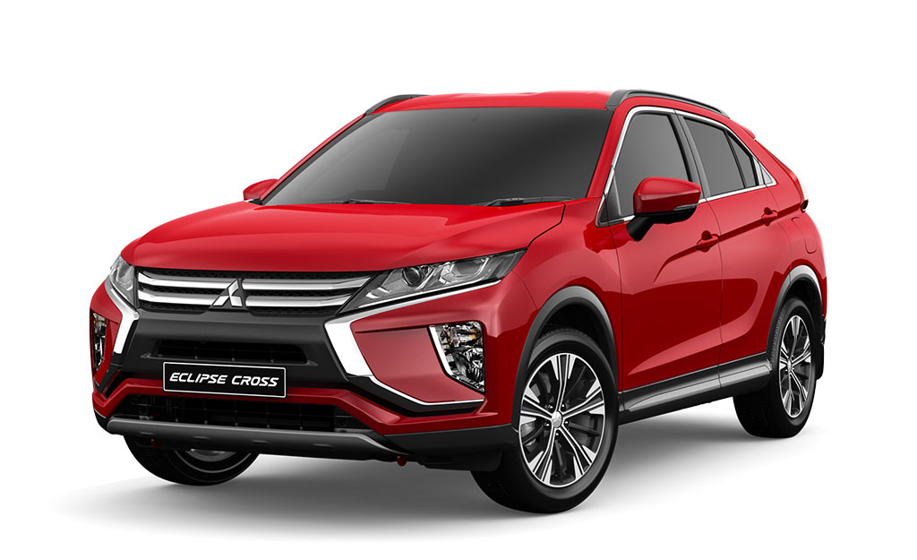 Mitsubishi Eclipse Cross XLS 2WD red