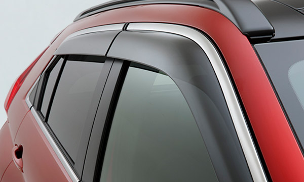 Eclipse Cross weather sheilds