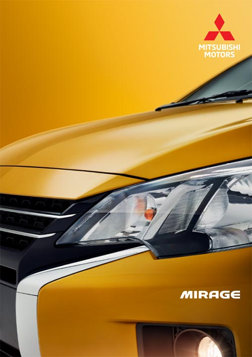 MItsubishi Mirage Brochure Cover