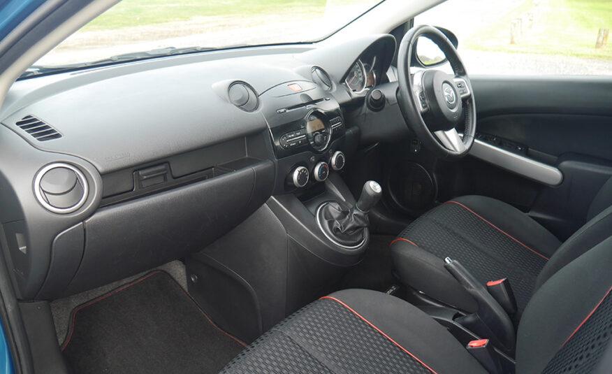 2012 Mazda 2 Sport 1.5L DOHC Petrol 5 Speed Manual
