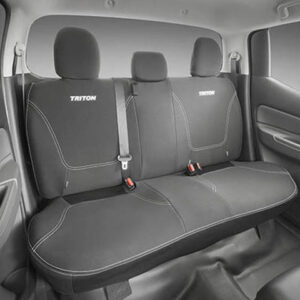 JCMZ350468 Triton Neoprene Seat Covers - Rear Set - Double Cab
