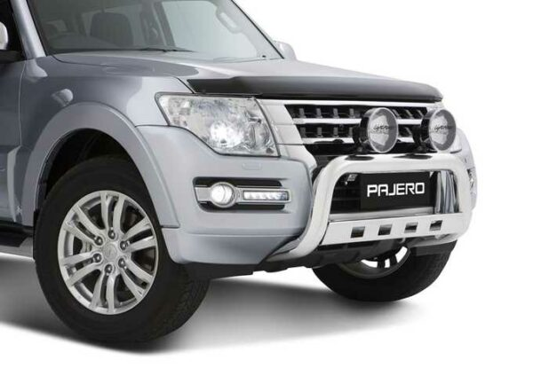 JCMZ350536 Pajero Alloy Nudge Bar