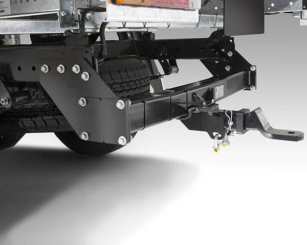 JCMZ350661EX Towbar Kit - Single Cab cab chassis