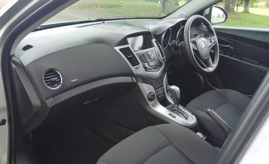 2017 Holden Cruze Equipe 1.8L Petrol Auto