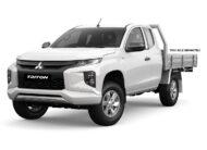 2021 Mitsubishi Triton GLX Club Cab Chassis 4WD 2.4L Diesel Turbo Auto